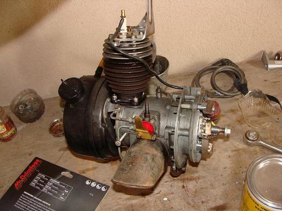 moteur de solex 2200